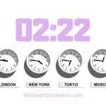 Mơ thấy số 02:22 có ý nghĩa gì?